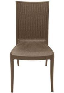 Cadeira Laura Ratan - Marrom - Tramontina