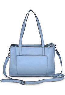 Bolsa Mantoan Transversal Handbag Couro Estilo Feminina - Feminino