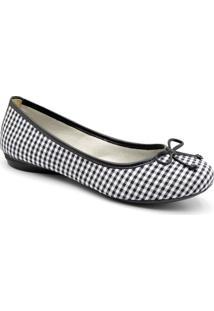 Sapatilha Dr Shoes Casual Feminino - Feminino-Xadrez