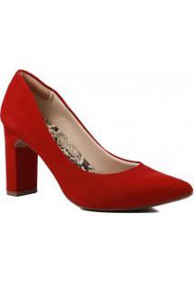 Sapato Feminino Zariff Scarpin Salto Barra