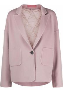 12 Storeez Double-Layered Blazer Jacket - Rosa
