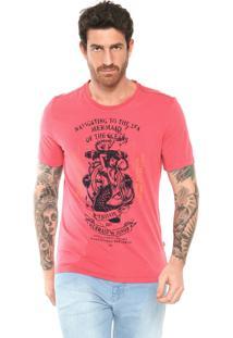 Camiseta Triton Mermaid Coral