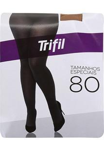 Meia Calça Trifil Plus Size Opaca Fio 80 Feminina - Feminino