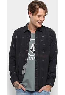 Camisa Volcom Desmond Imp Manga Longa - Masculina - Masculino