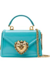 Dolce & Gabbana Devotion Crossbody Bag - Azul