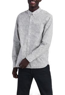 Camisa Levis Masculina Pacific No Pocket Branca Branco