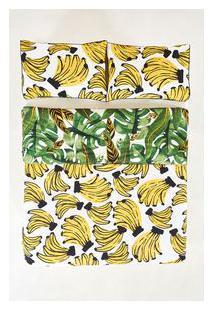 Edredom Fofo Banana - Multicolorido - U