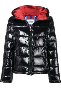 Invicta Hooded Puffer Jacket - Preto