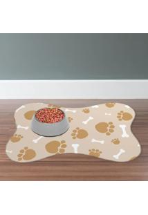 Tapete Pet Mdecore Pata Bege 46X33Cm