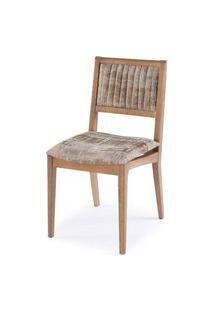 Cadeira Farm Com Encosto E Assento Estofado - 51167 Preto