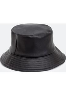 Chapéu Bucket Em Pu