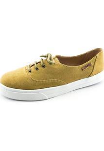 Tênis Quality Shoes Feminino 005 Camurça Caramelo 33