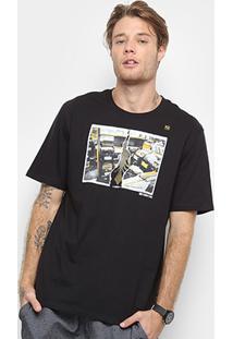 Camiseta Cavalera Sebodiscos Masculina - Masculino