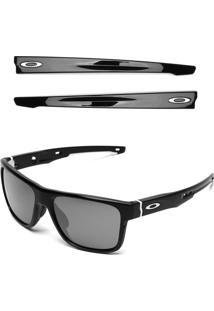 Óculos De Sol Oakley Crossrange Preto