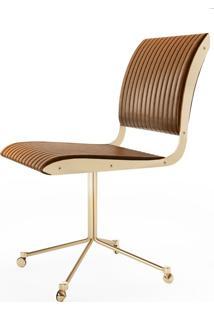 Cadeira Falx Office Estofada Rodízios Coleção Bari Tremarin Design By Fernando Sá Motta