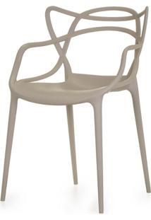 Cadeira Master Allegra Polipropileno Fendi