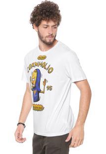 Camiseta Cavalera Cornholio Off-White
