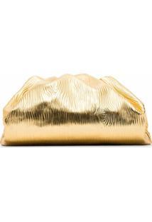 Bottega Veneta Bolsa The Pouch - Dourado