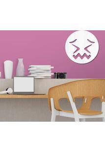 Espelho Decorativo Emoji Agonia