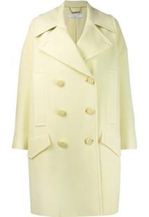 Givenchy Sobretudo Oversized - Amarelo