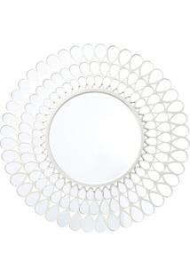 Espelho Com Vazados Para Pendurar- Espelhado & Prateado