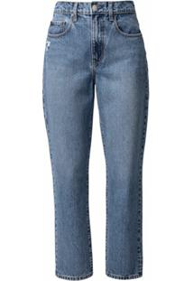 Nobody Denim Calça Jeans Skinny Zoe Cintura Alta - Azul