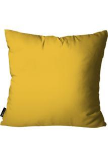 Capa Para Almofada Mdecore De Páscoa Amarelo 35X35