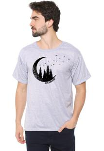 Camiseta Eco Canyon Lua Cinza