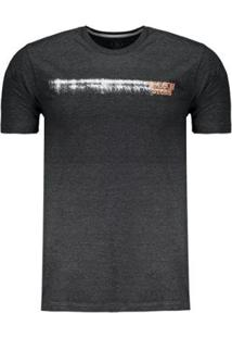 Camiseta Volcom Long Fit Courtesy Masculina - Masculino-Preto