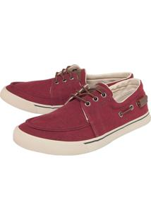 Sapatênis Coca Cola Shoes Negev Vermelho