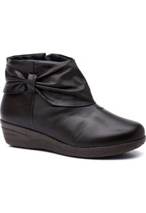Bota Feminina 158 Em Couro Doctor Shoes - Feminino-Café