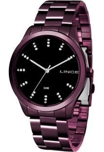 Relógio Feminino Lince Lrv4445L-P1Ux Aço - Feminino