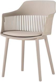 Cadeira Leslie Polipropileno Nude - 58275 - Sun House