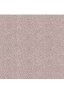 Papel De Parede Abstrato- Cinza & Bege- 100X52Cmshark Metais