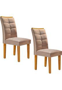 Conjunto Com 2 Cadeiras Villa Rica Ypê E Pena