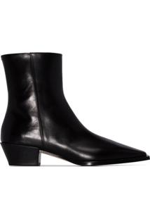 Aeyde Ankle Boot Ruby - Preto