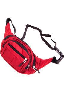 Pochete Prorider Vermelha Com Preto - Pro2013