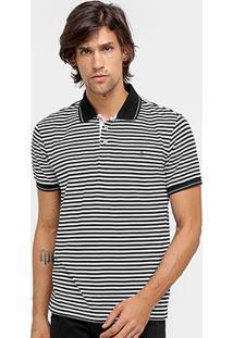 Camisa Polo Forum Listrada Frisos Masculina - Masculino