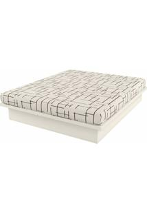 Cama De Casal Apolo Cor Off White - 56305 - Sun House