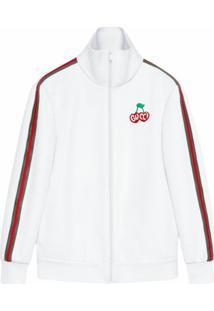 Gucci Jaqueta Com Logo - Branco