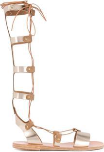 Ancient Greek Sandals Sandália Thebes - Dourado