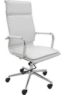 Cadeira Alta Oficce Valencia -Rivatti - Branco