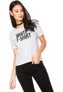 Camiseta Calvin Klein Jeans Color Branca