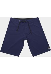 Boardshort Quiksilver Manic Solid Masculino - Masculino-Azul Royal+Azul