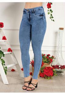 Calça Jeans Levanta Bum Bum Sawary