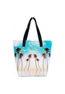 Bolsa Feminina Praia Céu Azul, Magicc