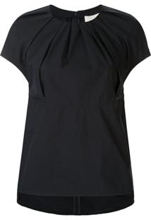 3.1 Phillip Lim Ruched Detail Oversized Blouse - Azul