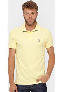 Camisa Polo Aleatory Piquet Lisa Masculina - Masculino