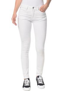 Calça Color Five Pockets Super Skinny - Branco 2 - 40