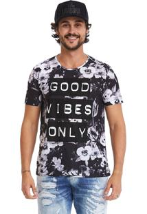 Camiseta Estampada Lavíbora Good Vibes